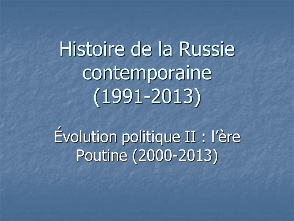 Histoire de la Russie contemporaine (1991-2013)