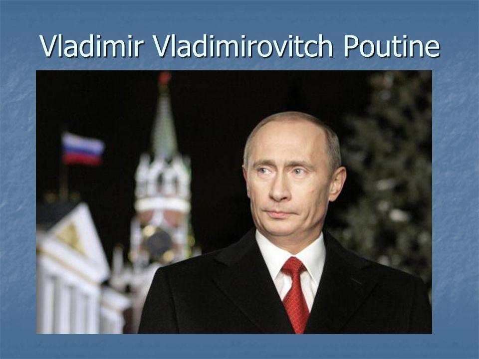 Vladimir Vladimirovitch Poutine
