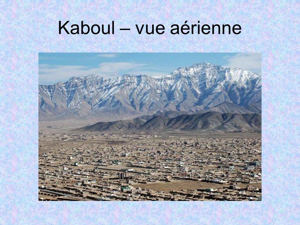 Kaboul – vue aérienne