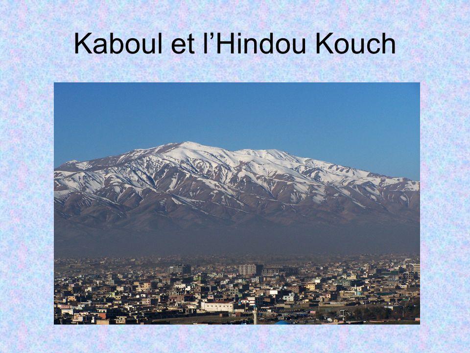 Kaboul et l'Hindou Kouch