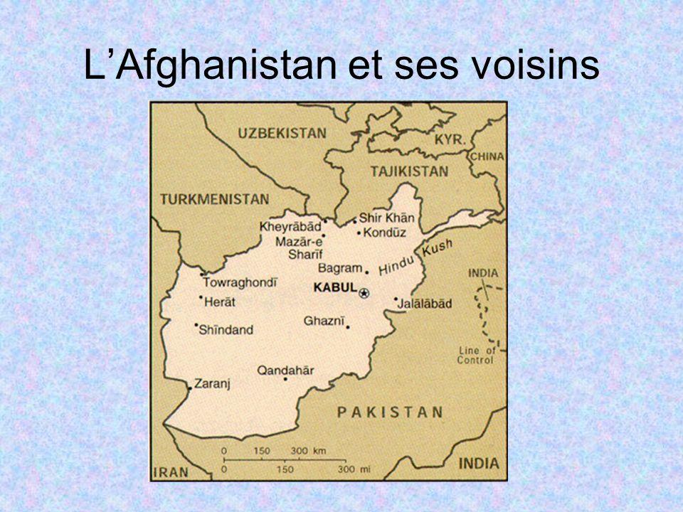 L'Afghanistan et ses voisins