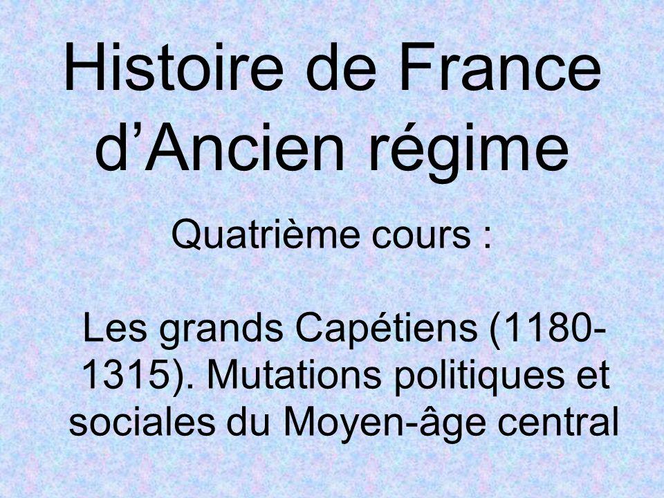 Histoire de France d'Ancien régime