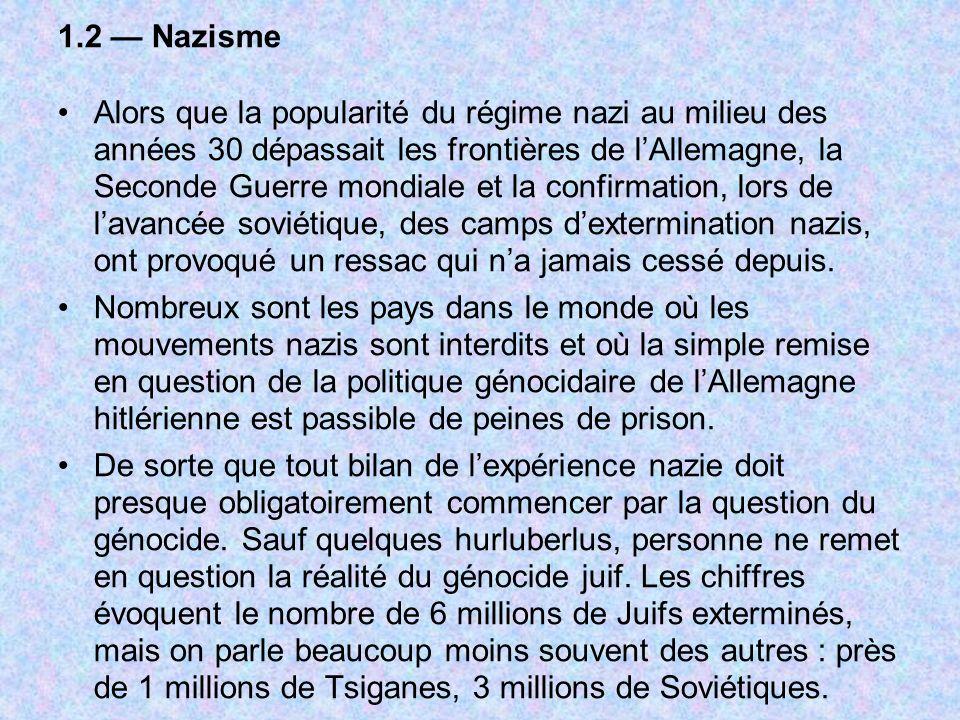 1.2 — Nazisme