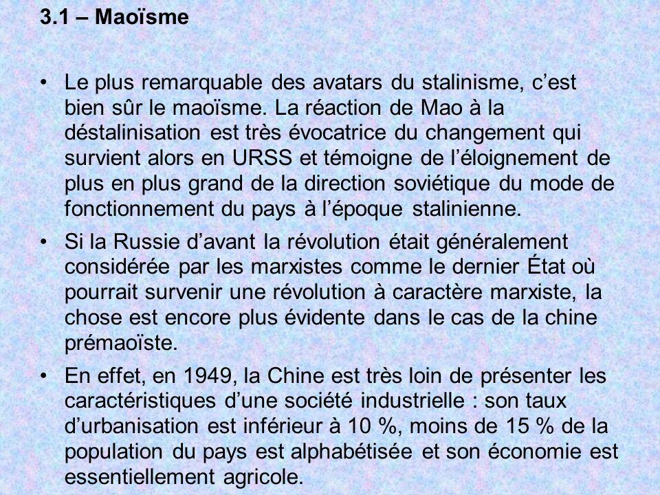 3.1 – Maoïsme