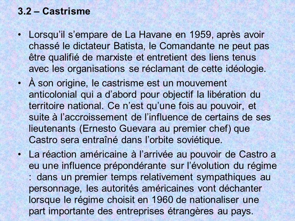 3.2 – Castrisme