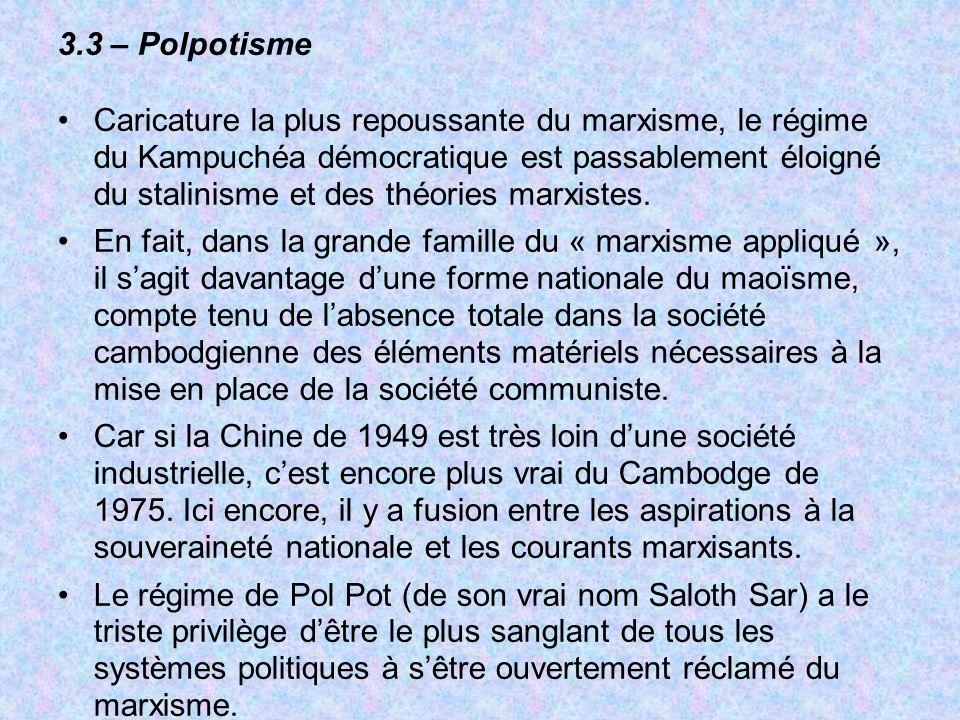 3.3 – Polpotisme
