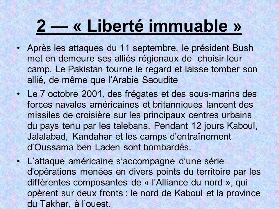 2 — « Liberté immuable »