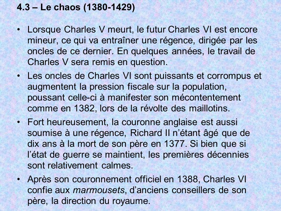 4.3 – Le chaos (1380-1429)