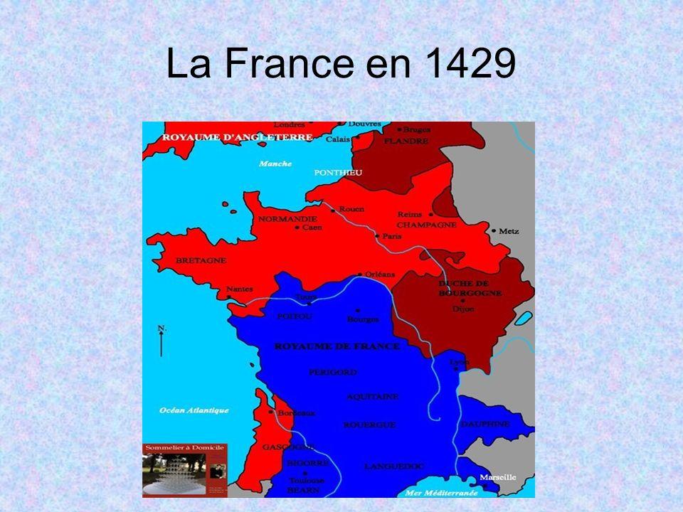 La France en 1429