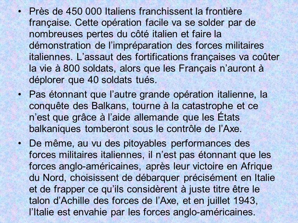 Près de 450 000 Italiens franchissent la frontière française