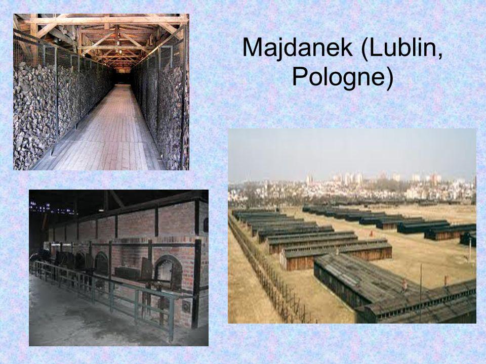 Majdanek (Lublin, Pologne)