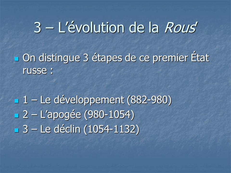 3 – L'évolution de la Rous'