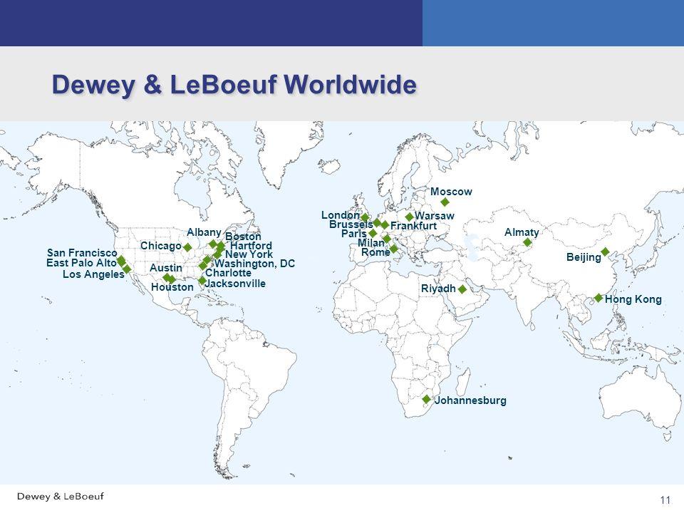 Dewey & LeBoeuf Worldwide