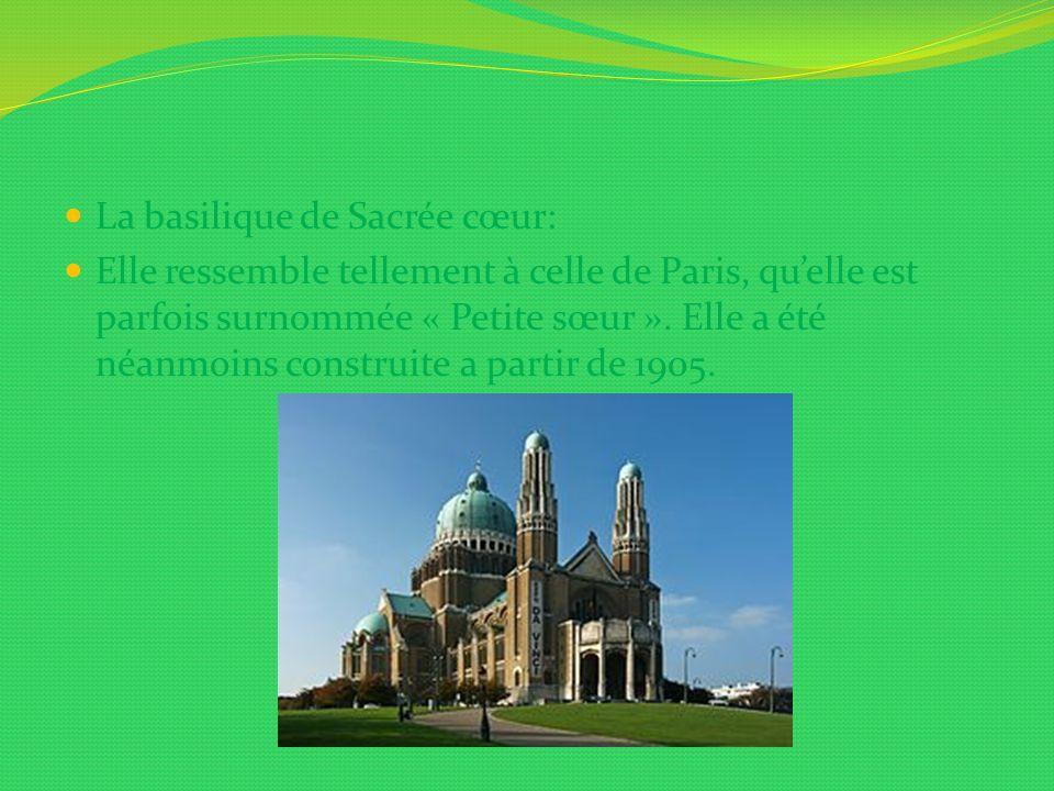 La basilique de Sacrée cœur: