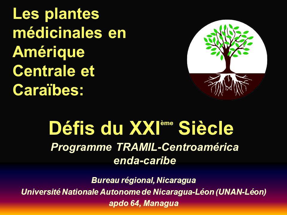 Les plantes médicinales en Amérique Centrale et Caraïbes: