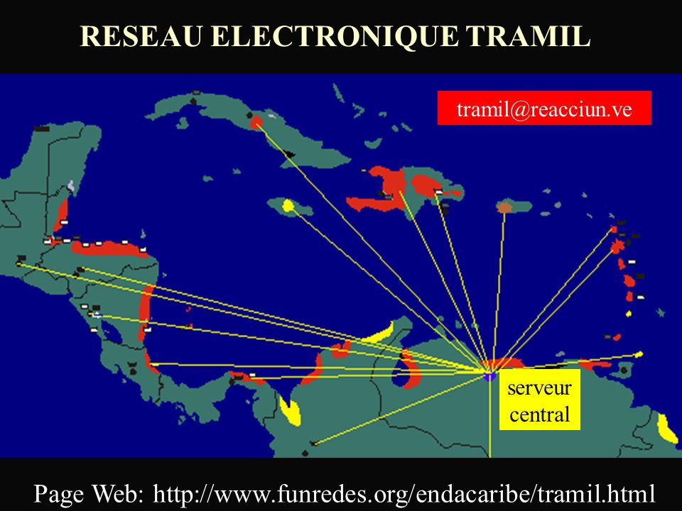 RESEAU ELECTRONIQUE TRAMIL