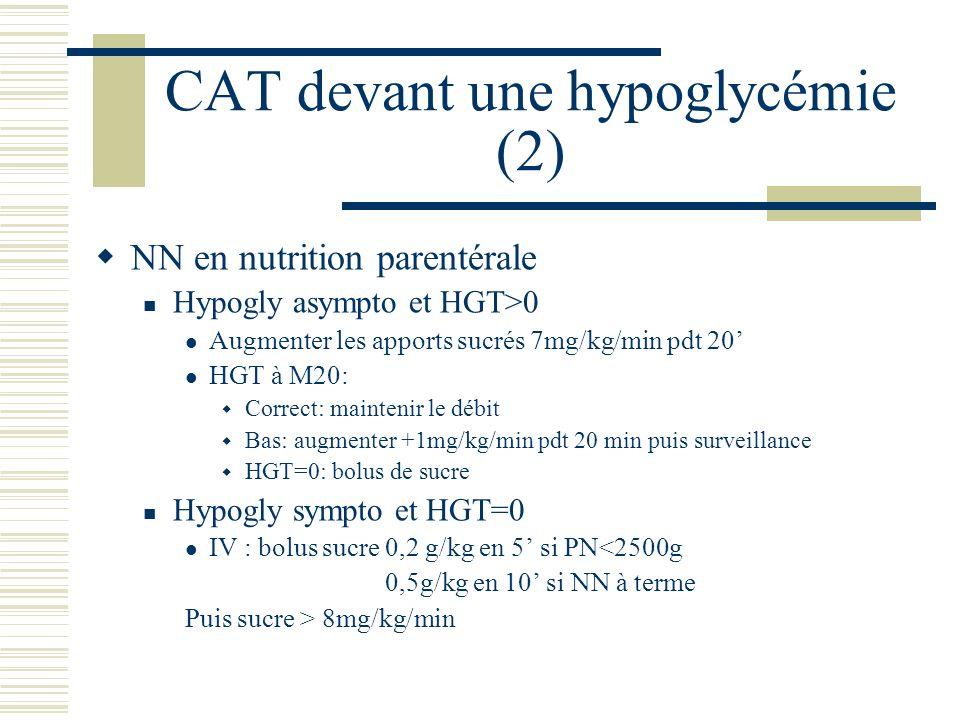 CAT devant une hypoglycémie (2)