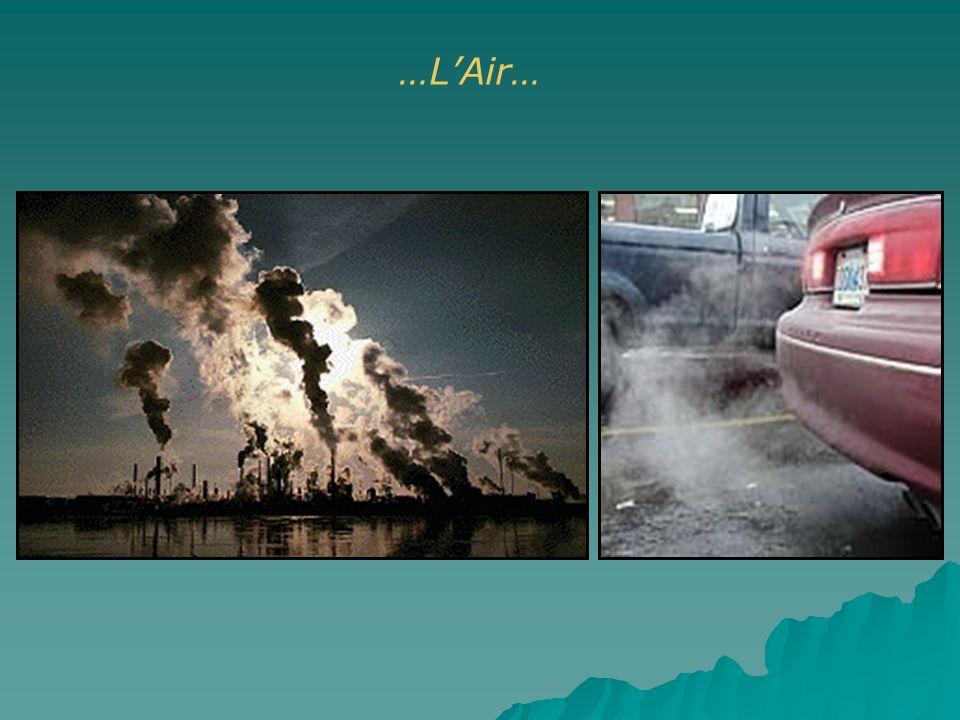 …L'Air… Pollution automobile et industrielle