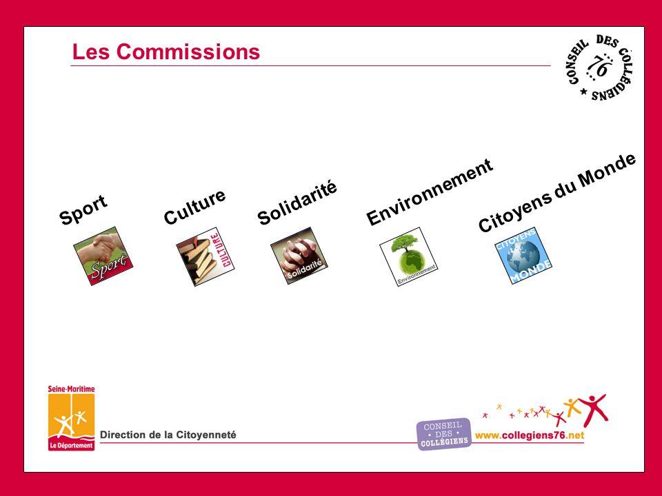 Les Commissions Citoyens du Monde Environnement Solidarité Culture