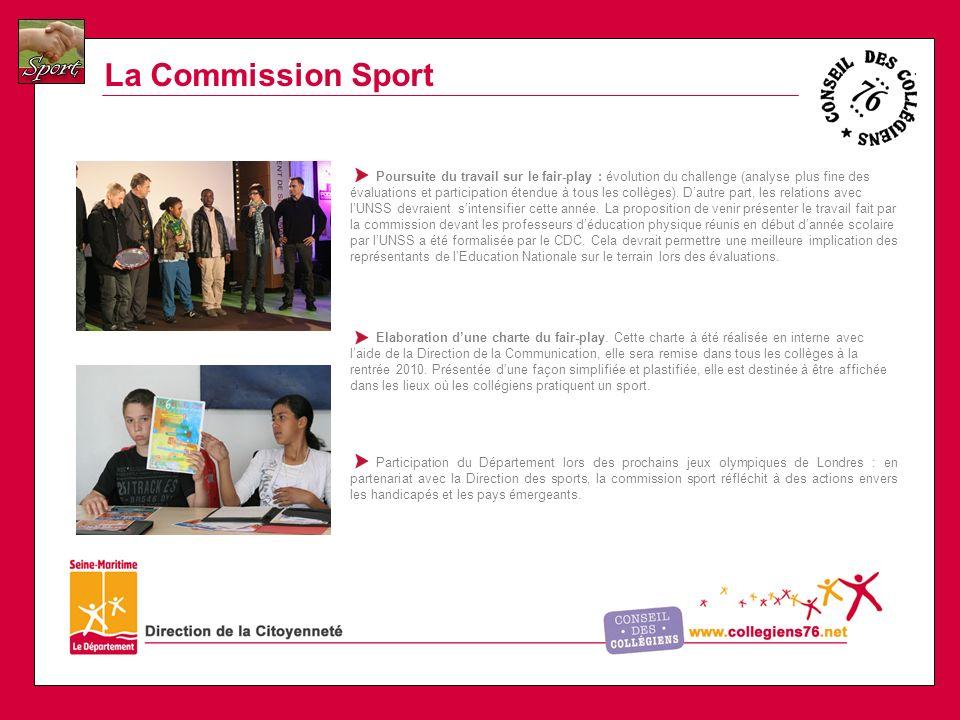 La Commission Sport