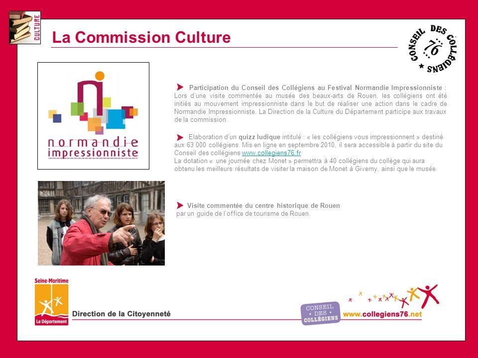 La Commission Culture