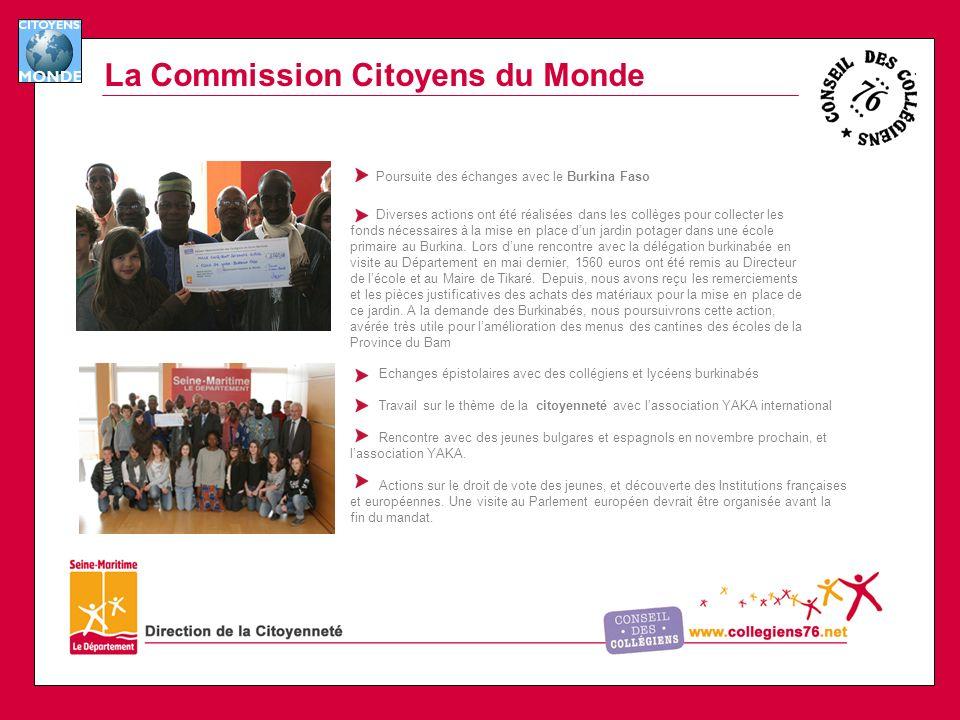 La Commission Citoyens du Monde