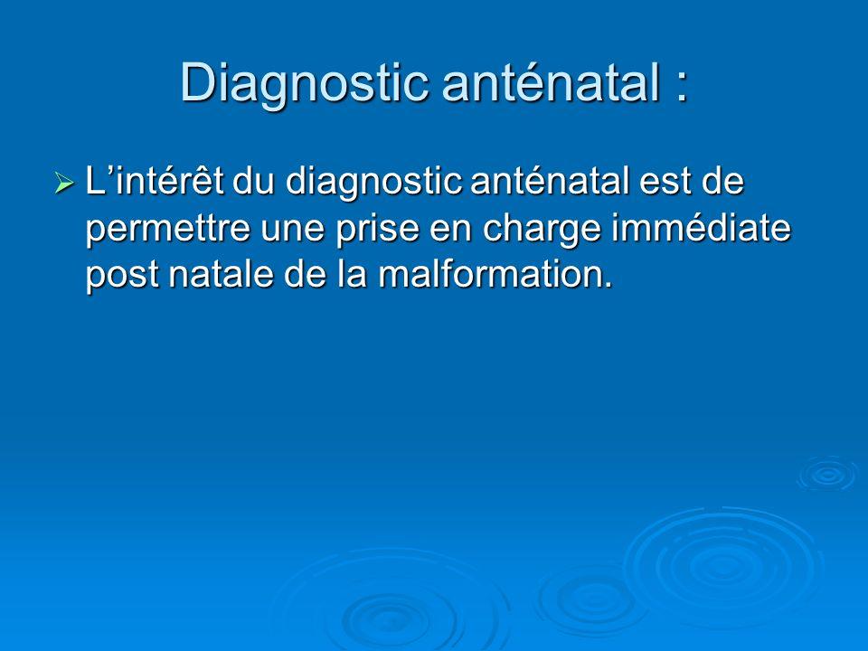 Diagnostic anténatal :