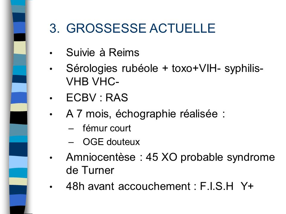 GROSSESSE ACTUELLE Suivie à Reims