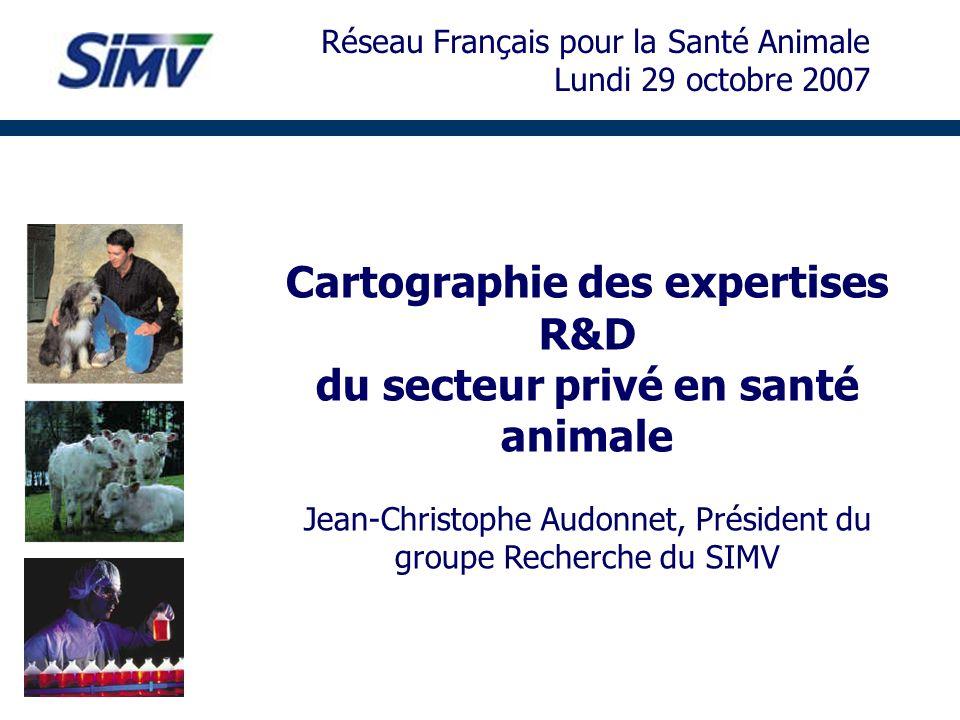 Cartographie des expertises R&D du secteur privé en santé animale