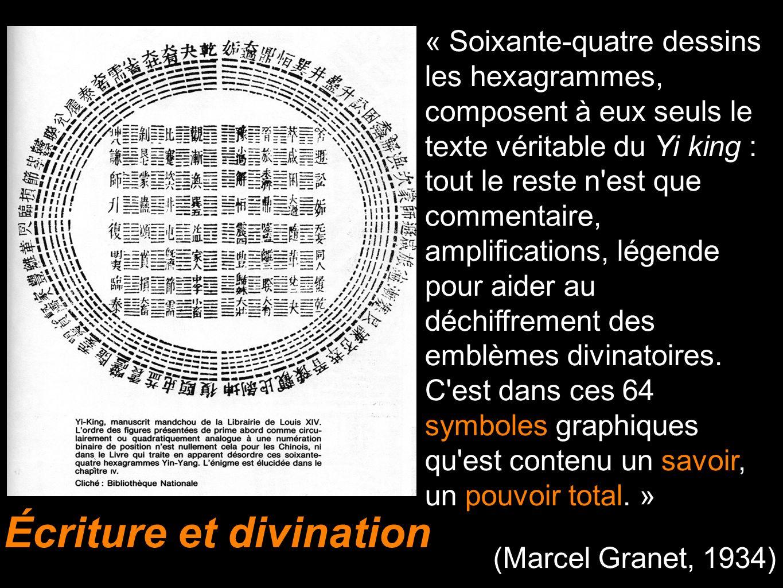 Écriture et divination