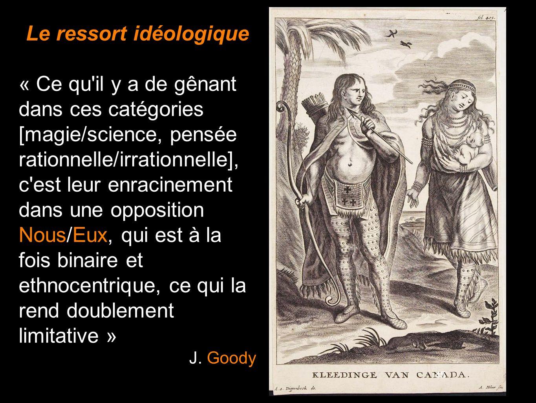 Le ressort idéologique