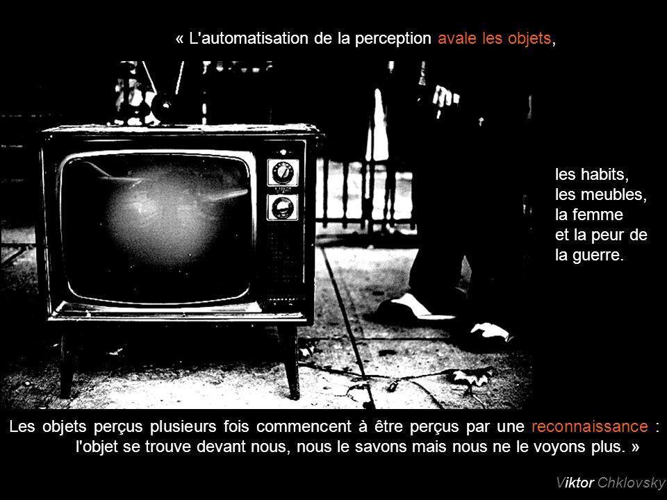 « L automatisation de la perception avale les objets,