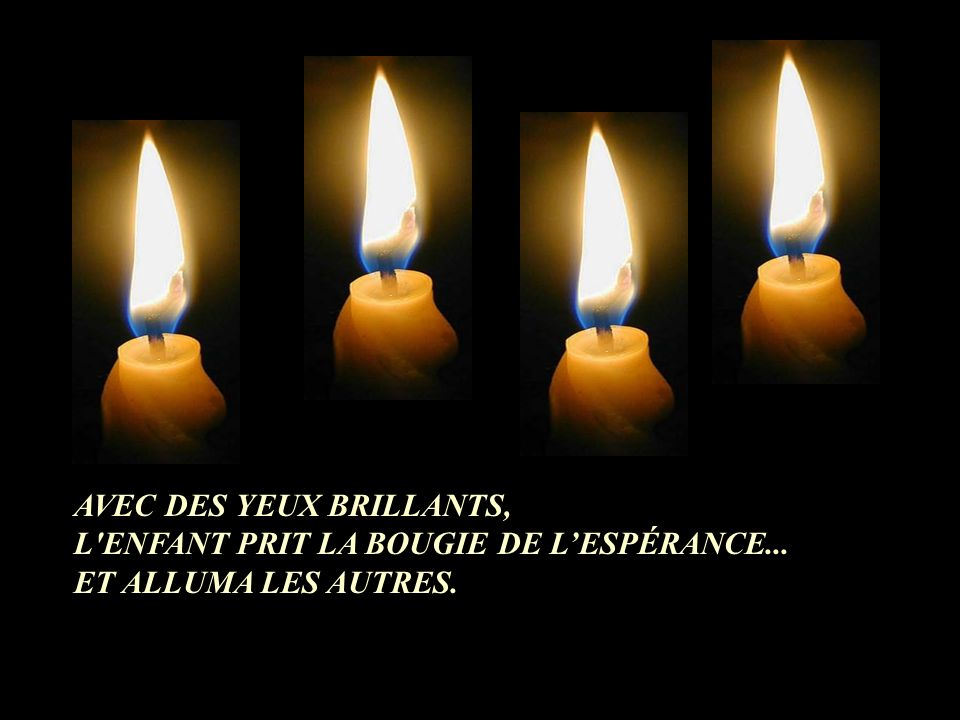 AVEC DES YEUX BRILLANTS,