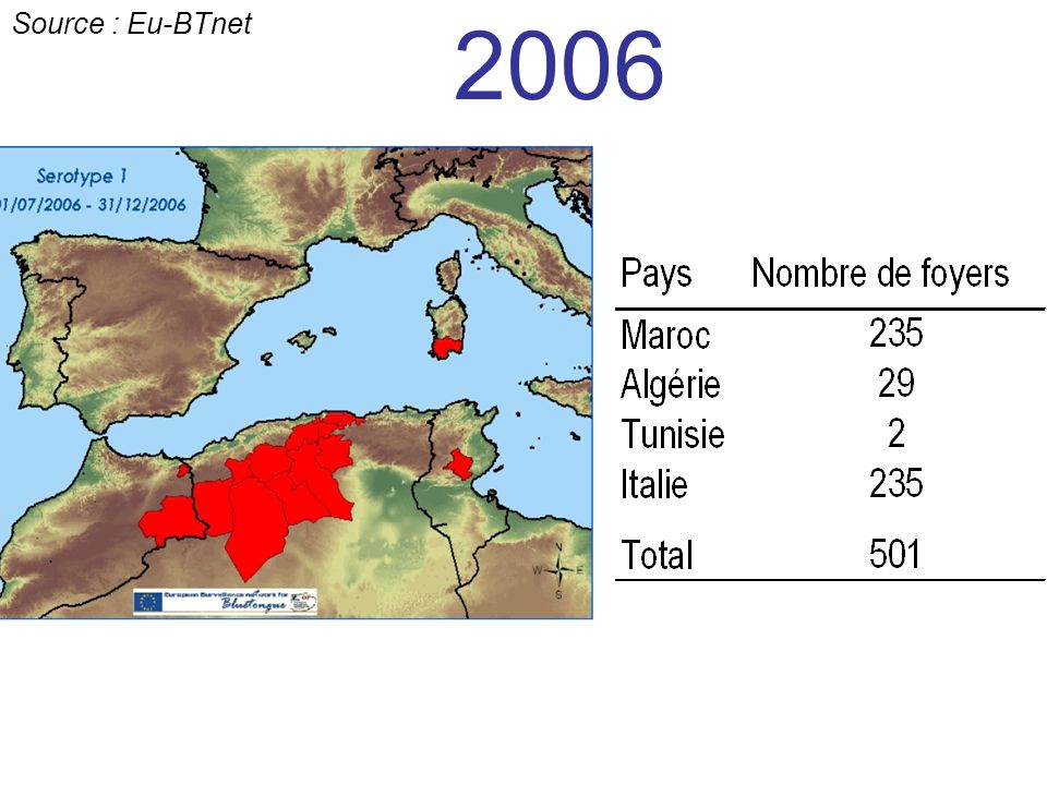 2006 Source : Eu-BTnet