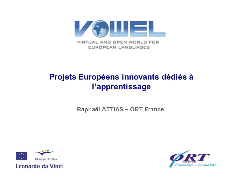 Projets Européens innovants dédiés à l'apprentissage