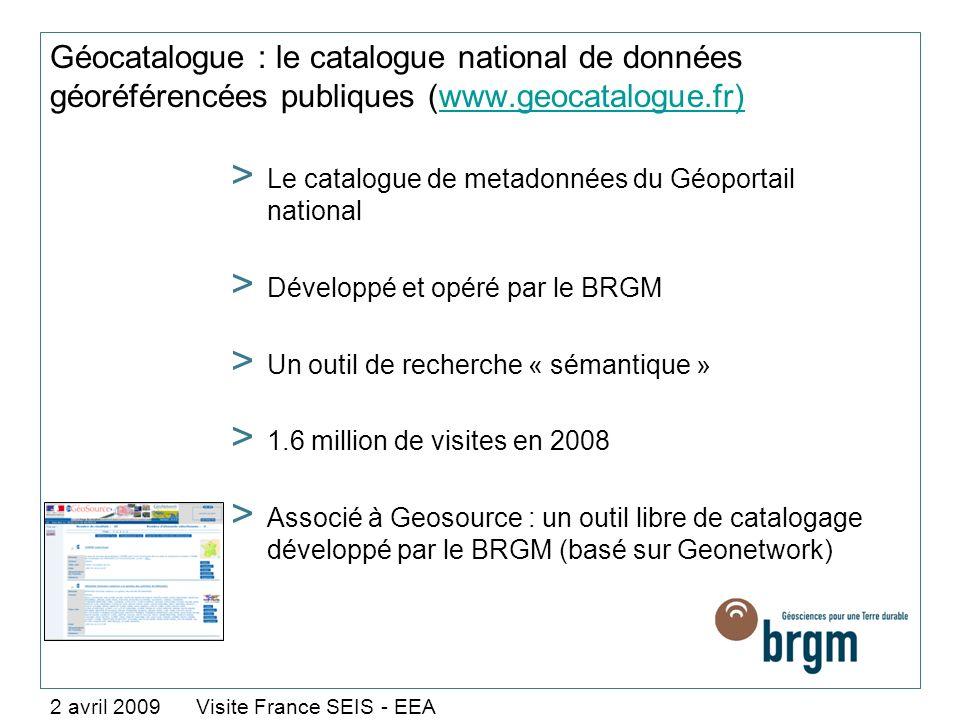 Géocatalogue : le catalogue national de données géoréférencées publiques (www.geocatalogue.fr)