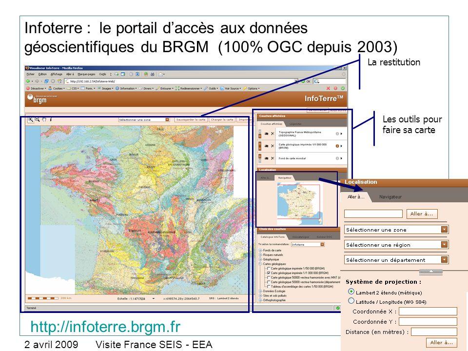 Infoterre : le portail d'accès aux données géoscientifiques du BRGM (100% OGC depuis 2003)