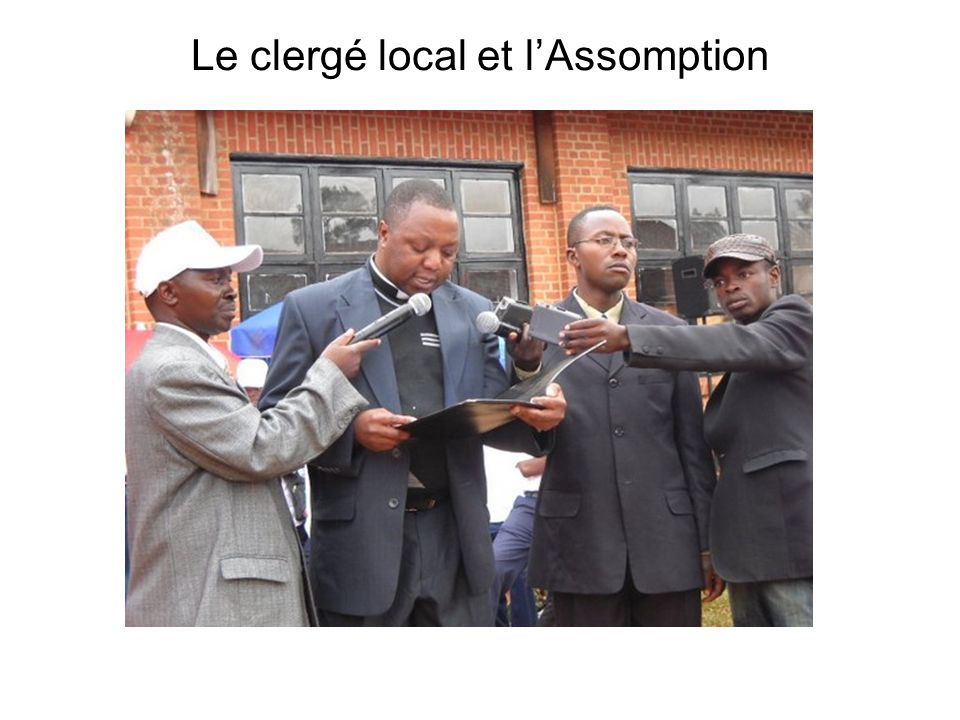 Le clergé local et l'Assomption