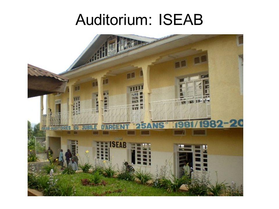 Auditorium: ISEAB