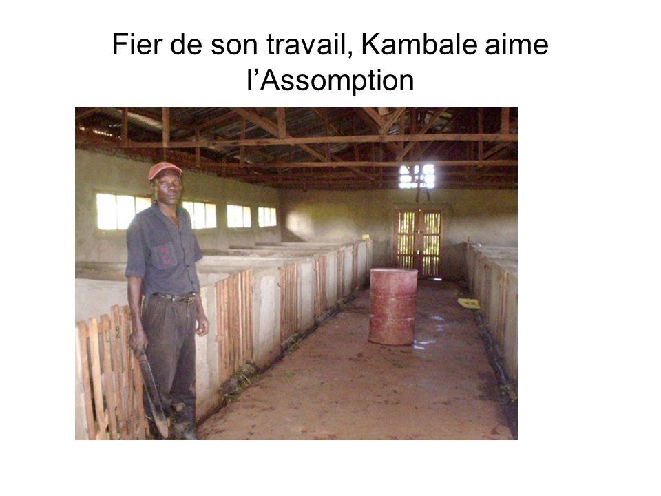Fier de son travail, Kambale aime l'Assomption