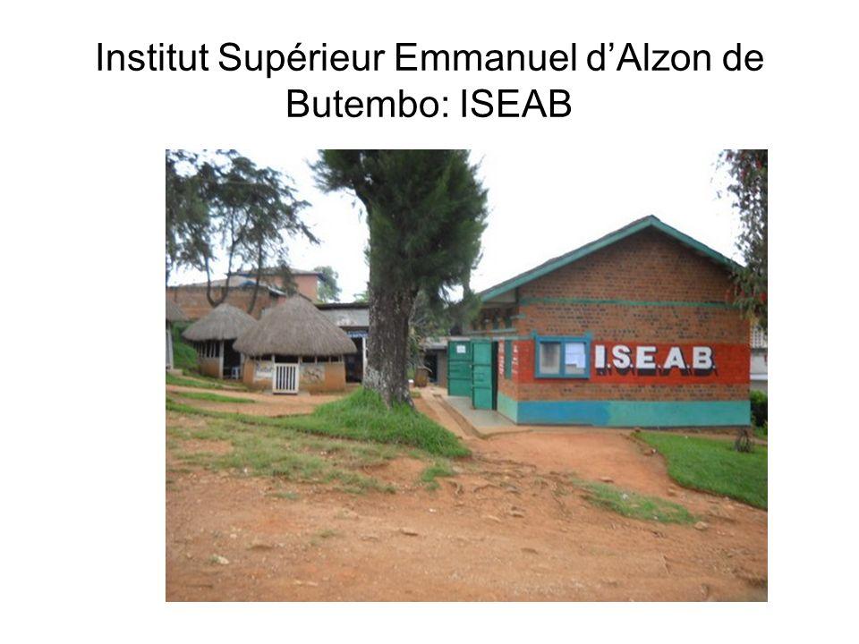 Institut Supérieur Emmanuel d'Alzon de Butembo: ISEAB