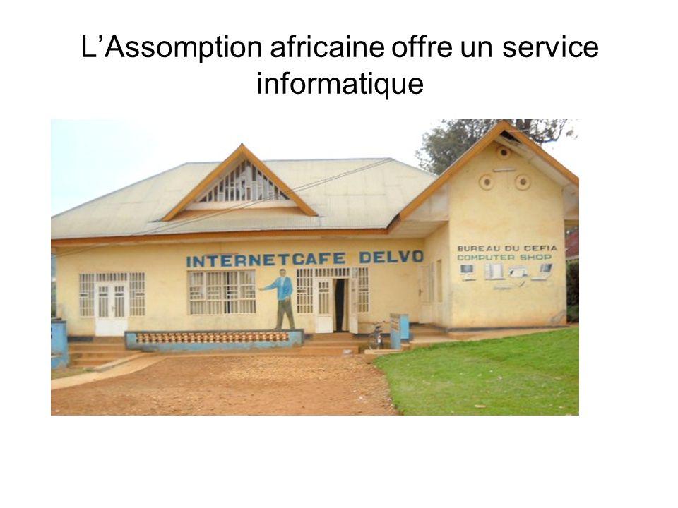 L'Assomption africaine offre un service informatique