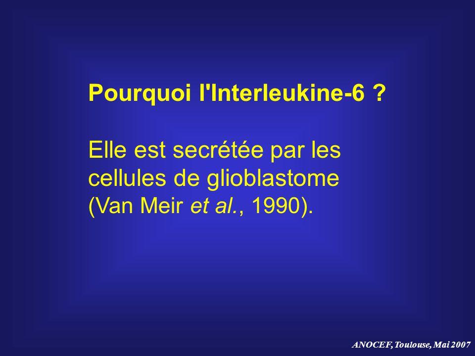 Pourquoi l Interleukine-6