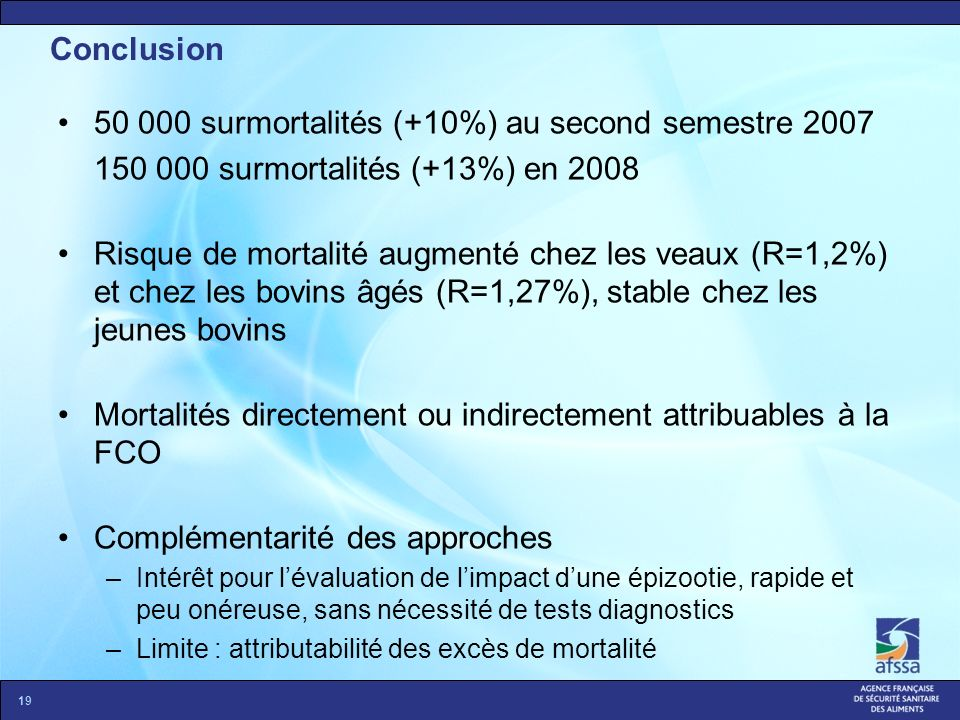 50 000 surmortalités (+10%) au second semestre 2007
