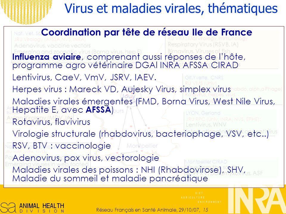 Coordination par tête de réseau Ile de France