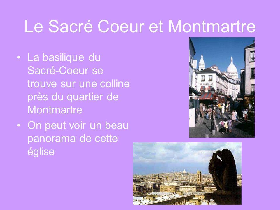 Le Sacré Coeur et Montmartre