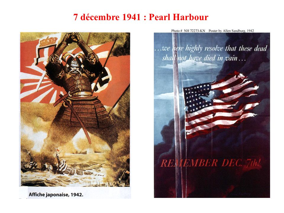 7 décembre 1941 : Pearl Harbour