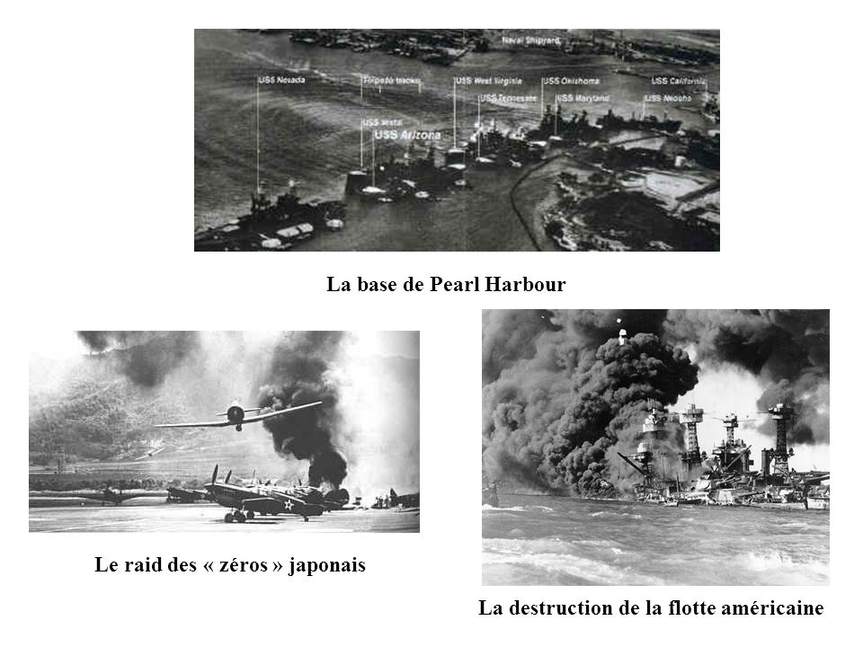 La base de Pearl Harbour