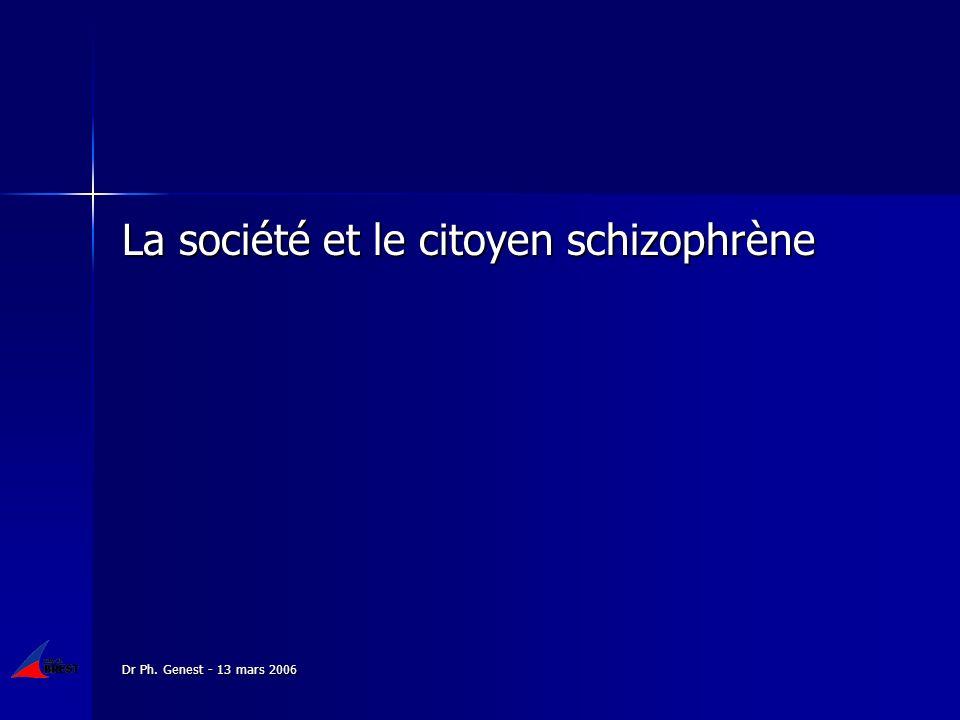 La société et le citoyen schizophrène