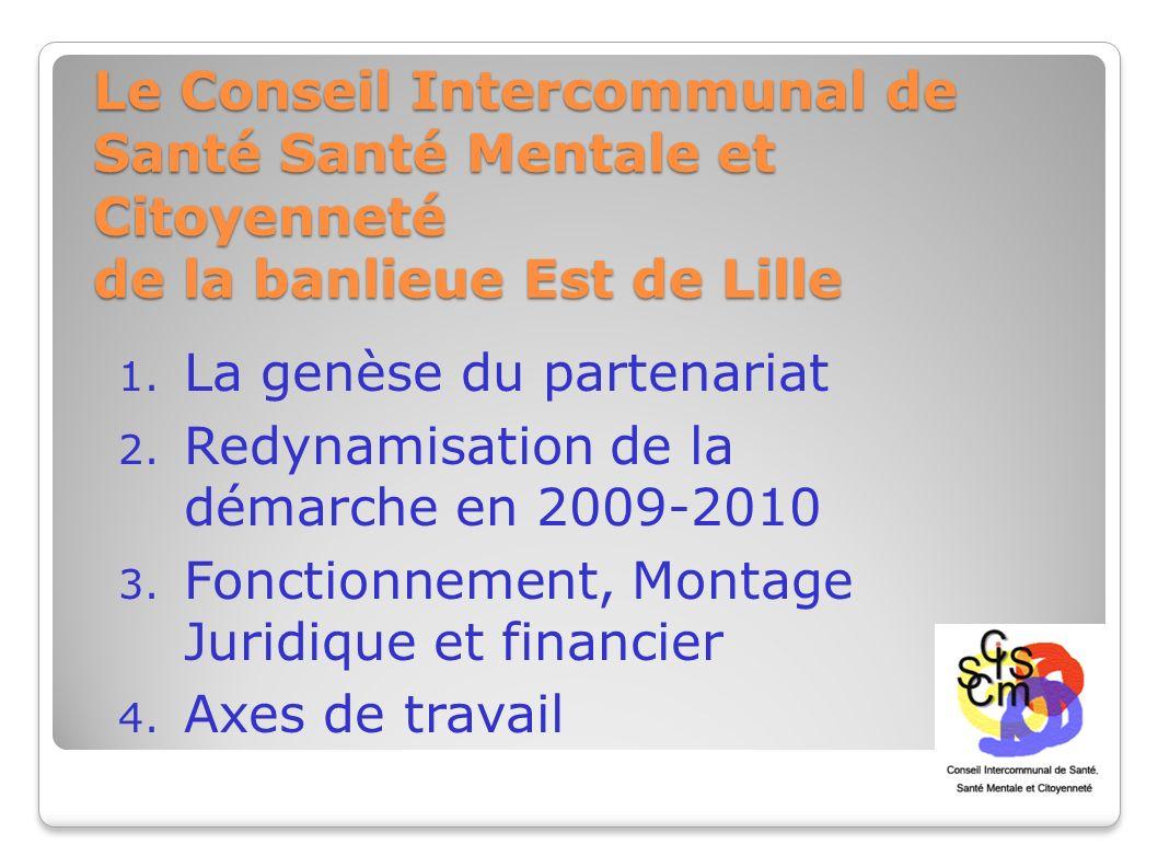Le Conseil Intercommunal de Santé Santé Mentale et Citoyenneté de la banlieue Est de Lille